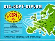 DIG-CEPT-Diplom